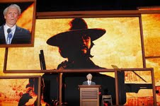 Actor Clint Eastwood addresses the Republican National Convention in Tampa, Fla., August 30, 2012. Mr. Eastwood has joined other conservatives in supporting same-sex marriage.