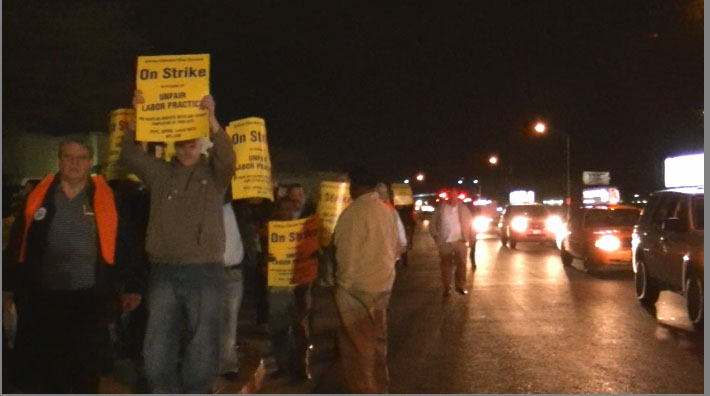 stike picture Taxi Strike Impacts Cab Company, Not Industry
