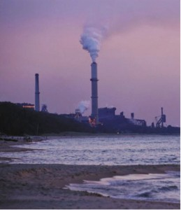 The amount of carbon dioxide (CO2) in the atmosphere today is roughly 390 parts per million (ppm), well above the 275 ppm it was before we started pumping pollution skyward during the Industrial Revolution. Climate scientists and green leaders today agree that 350 ppm would be a tolerable upper limit.