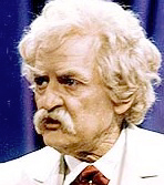 Hal Holbrook as Twain 2