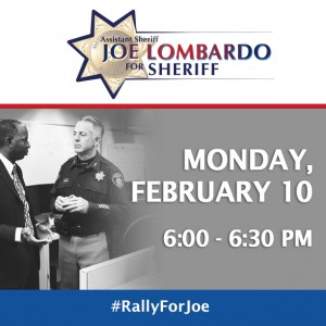 TJ and shoulder tap sheriff Joe Lombardo