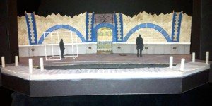01 scale model of set