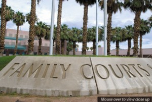 Family Court sign
