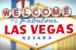 A welcome to Las Vegas sign