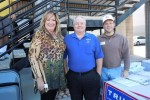 "An article from KSNV News 3 LV posted on the Clark County Republican Party's webpage reads,""Nevada is really going to make a difference this year in terms of selecting our presidential candidate; fourth in the nation and first in the West,"" said Ed Williams, chairman of the Clark County Republican Party seen in this picture with Clark Feeley, host of The Heard radio show on radiotribune.com"