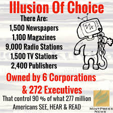 The corporate media need to start doing their job as they are suppose to, the right way