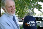 Gary Schmidt ran a television commercial accusing incumbent Ben Kieckhefer of being a supporter of Harry Reid — who spits out the word Republican as if it were an obscenity.