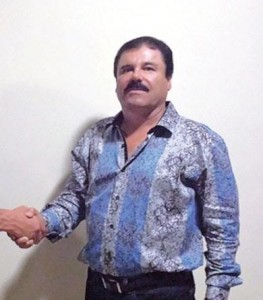 Joaquin Guzman, the so-called Mexican drug lord.