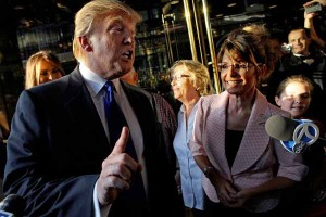 Sarah Palin and Donald Trump are two of the Republican Party's most outspoken mavericks