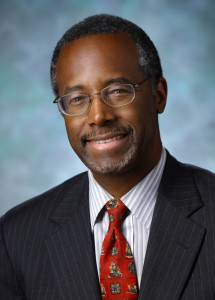 "Dr. Ben Carson is a retired pediatric neurosurgeon and Republican candidate for President. Ben Carson, M.D. is Professor Emeritus of Neurosurgery at Johns Hopkins University and a Fox News contributor. He is author of ""America the Beautiful: What Made This Nation Great"" (Zondervan 2012)."