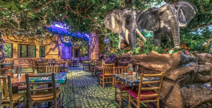 Rainforest Cafe Las Vegas-Dining Room-NW LCTN--