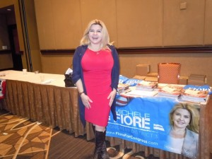 Michele Fiore, speaking about justice reform and having the federal government keep its promises