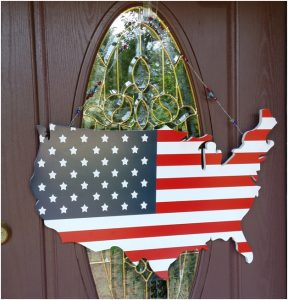 If someone is not happy with the new USA, we can show them the door.