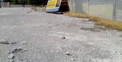 Seeing Judge Janiece Marshall's sign being relegated to the end of an empty lot away from the rest of the other candidates makes one wonder if it is a coincidence or  political manipulation
