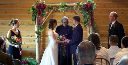 calif- brewery gulch inn-wedding-ceremony--