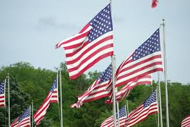 In this country the only flag that flies high is the one bearing the Stars and the Stripes and we demand respect for our flag.