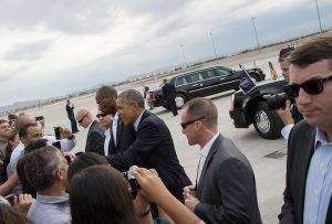 After the sitting president openly uses unauthorized government personnel and presidential transportation to campaign for the Democrat nominee, others might follow his pattern.