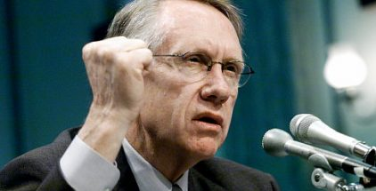 "Senator Harry Reid: ""Our borders have overflowed with illegal immigrants"