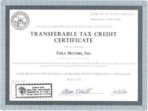 telsa-tax-credit