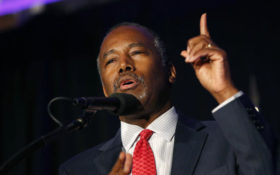 President-elect Donald Trump, moving to complete formation of his Cabinet and decide other key administration posts, chose former campaign rival Ben Carson on Monday to be secretary of the Department of Housing and Urban Development.