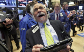 Trader Peter Tuchman works on the floor of the New York Stock Exchange, Friday, Dec. 9, 2016. U.S. stocks are opening higher Friday morning as major indexes continue to set records. (AP Photo/Richard Drew)