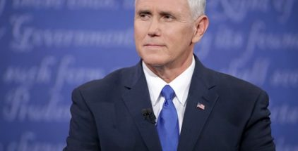 Vice President-elect Pence becomes first, since Reagan, to take Oath of Office with The Reagan Family Bible