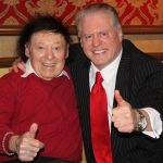 Comedy Icon Marty Allen approves the Italianicity of his Landsman.