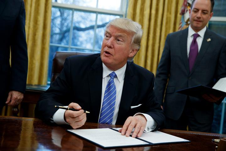 President Trump orders review of WOTUS