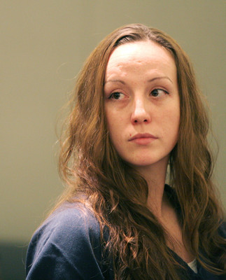 RONDA CHURCHILL/REVIEW-JOURNAL Kristin Lobato, convicted of voluntary manslaughter in the slaying and mutilation of a homeless man, appears in distict court at the Regional Justice Center Tuesday, Nov. 21, 2006.
