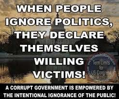 A corrupt government